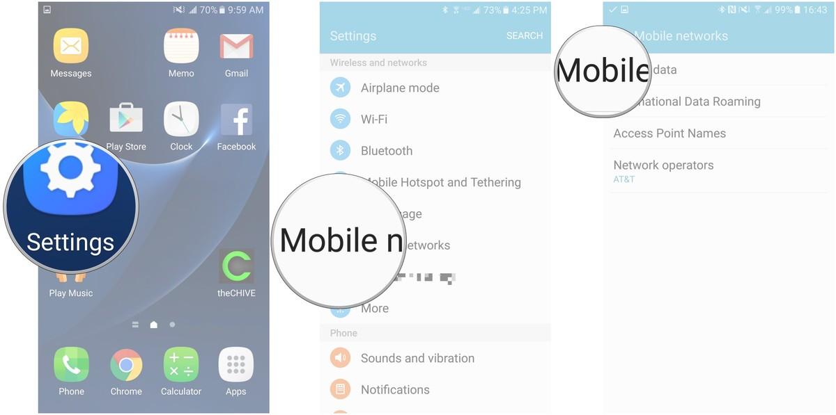 Jio VoLTE on AT&T Samsung Galaxy S7 - Samsung - Reliance Jio