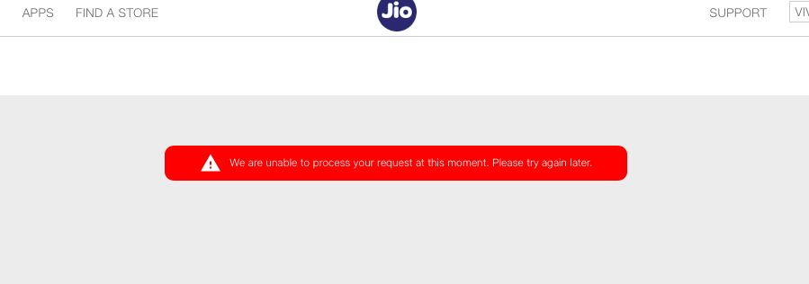 Update email ID with new Jio number - Reliance Jio 4G LTE (Prepaid